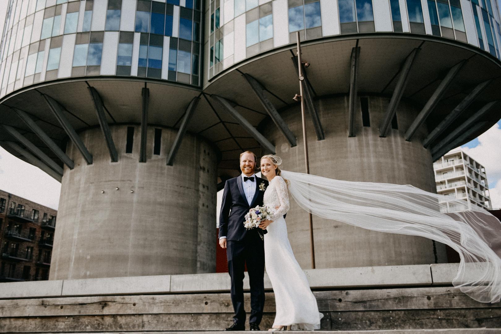 Bryllupsfotograf Kastellet København