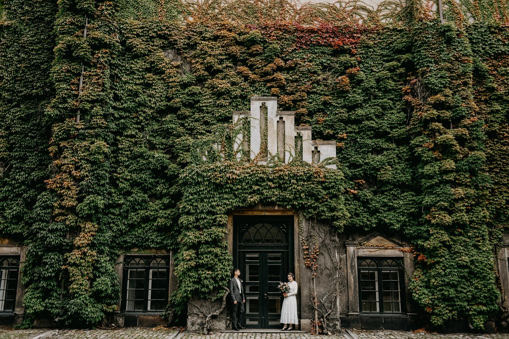 wedding couple civil wedding in Copenhagen