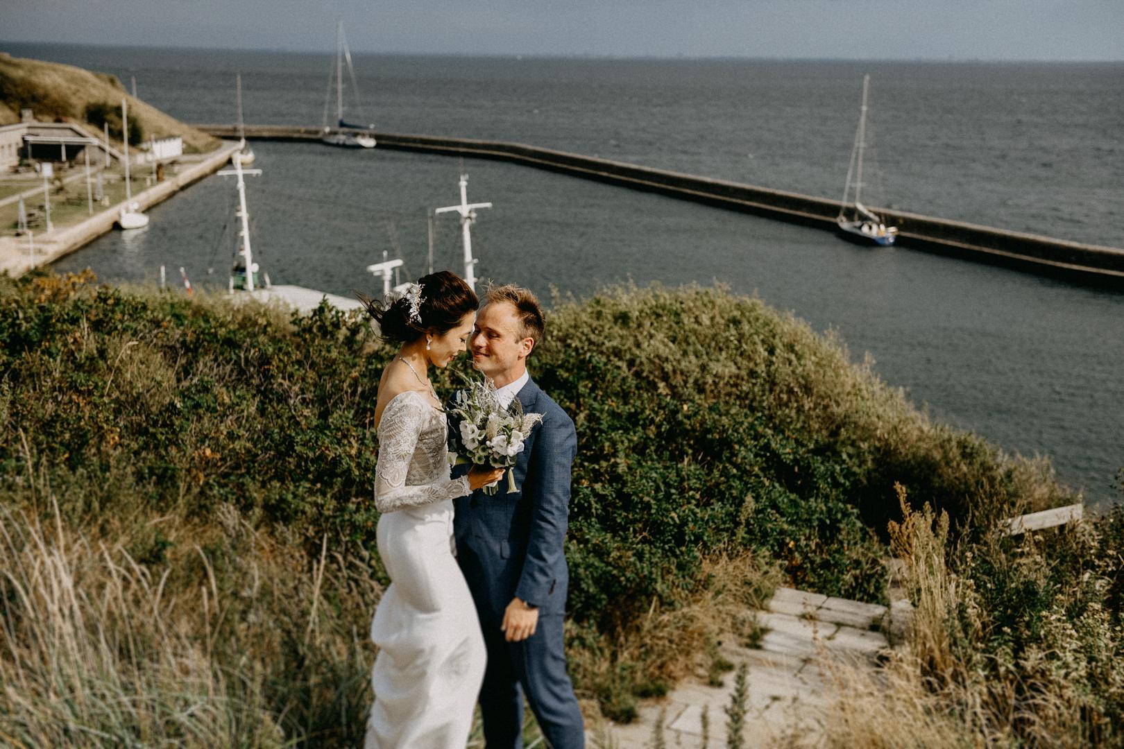 Wedding couple Flakforter Copenhagen